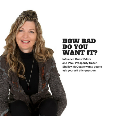 How Bad Do You Want It? A Guest Editorial by Shelley McQuade