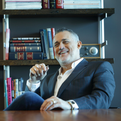 Jeffrey Hayzlett, Celebrated Authority in Marketing, Leadership, Brand Building, Bacon and an Influence 100 Authority.