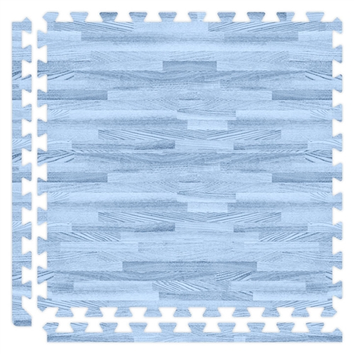 Soft Wood in Blue