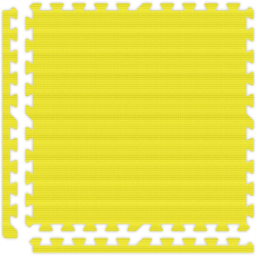 Soft Flooring in Yellow
