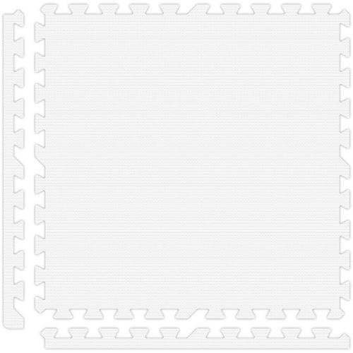 Soft Flooring in White
