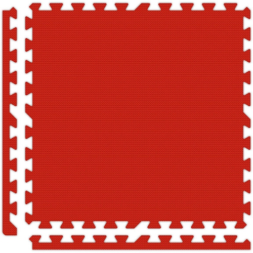 Soft Flooring in Red