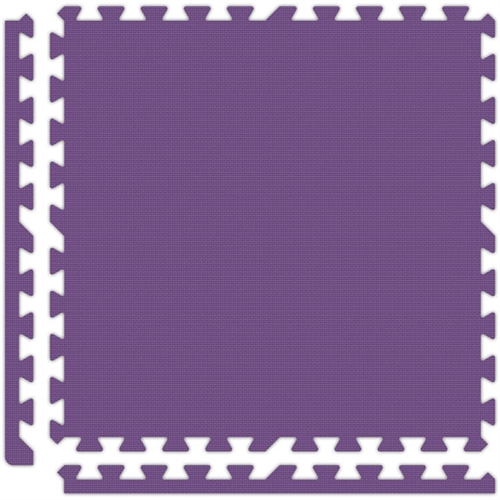 Soft Flooring in Purple