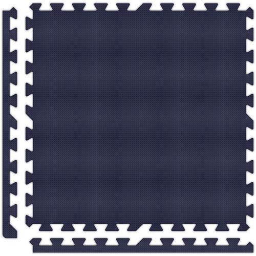 Soft Flooring in Navy Blue