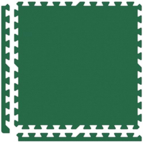 Soft Flooring in Green