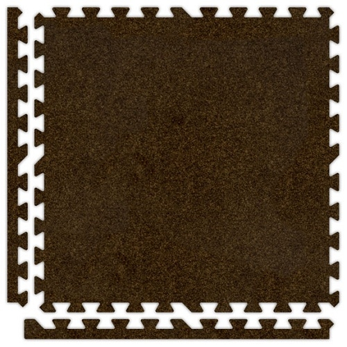Premium Soft Carpet in Brown