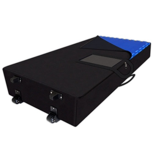 Soft Flooring Case with Wheels