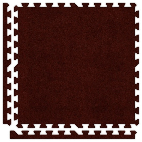 Premium Soft Carpet in Burgundy