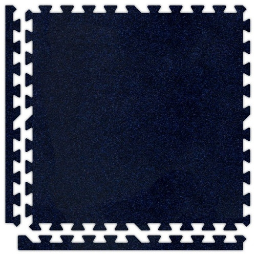 Soft Carpet in Navy Blue