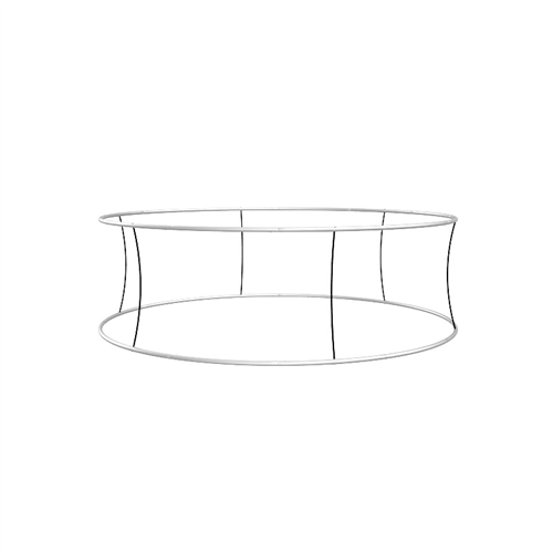 Blimp Tube Circular Hanging Sign Frame