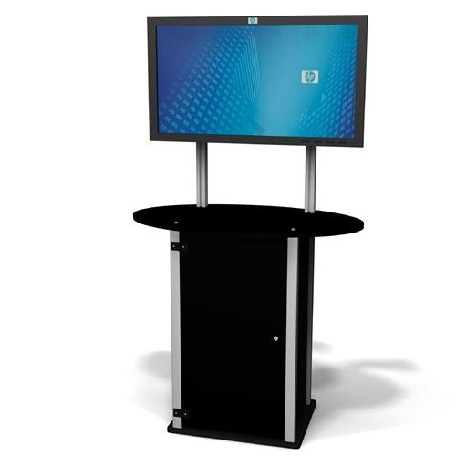 Tv Monitor Stands Trade Show Displays Moddisplays