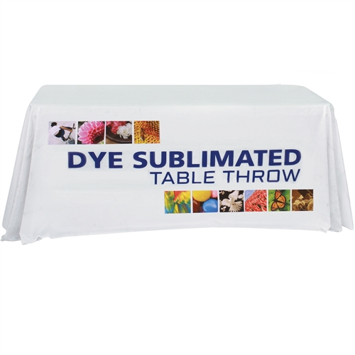6ft Table Throw with Full Print