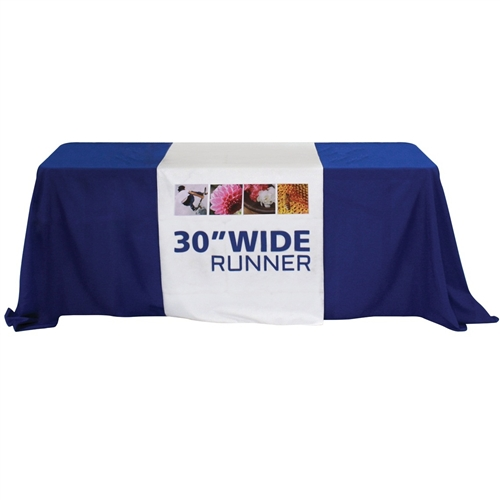 30in Table Runner with Full Print