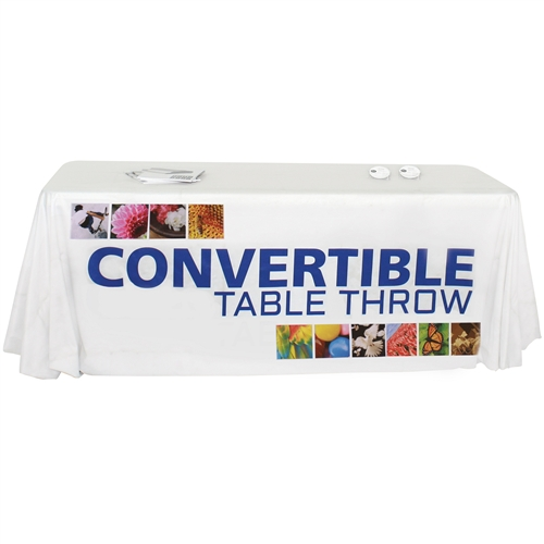 Convertible Table Throw with Full Print