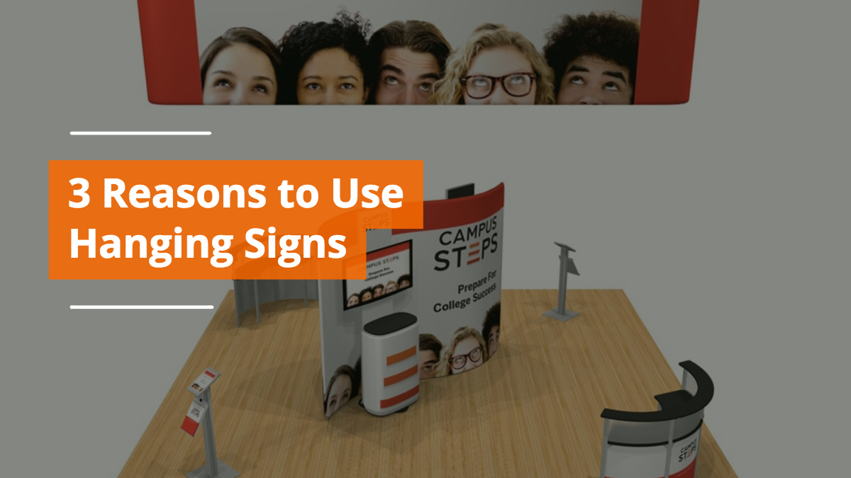 3 Reasons to Use a Hanging Sign