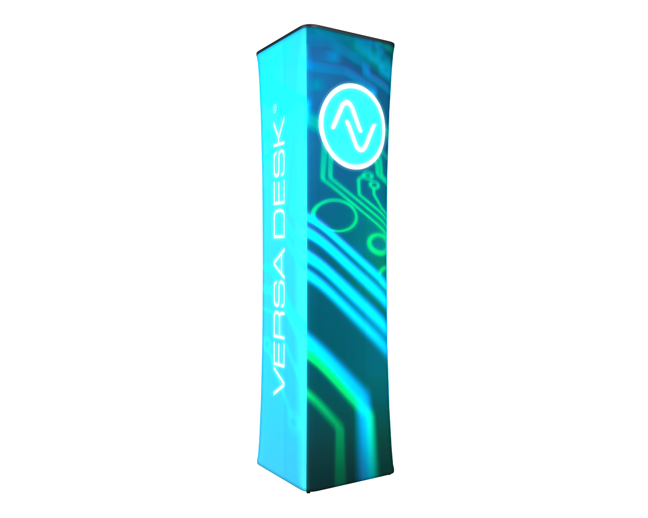 Wavelight Air Backlit Tower Graphic- Square