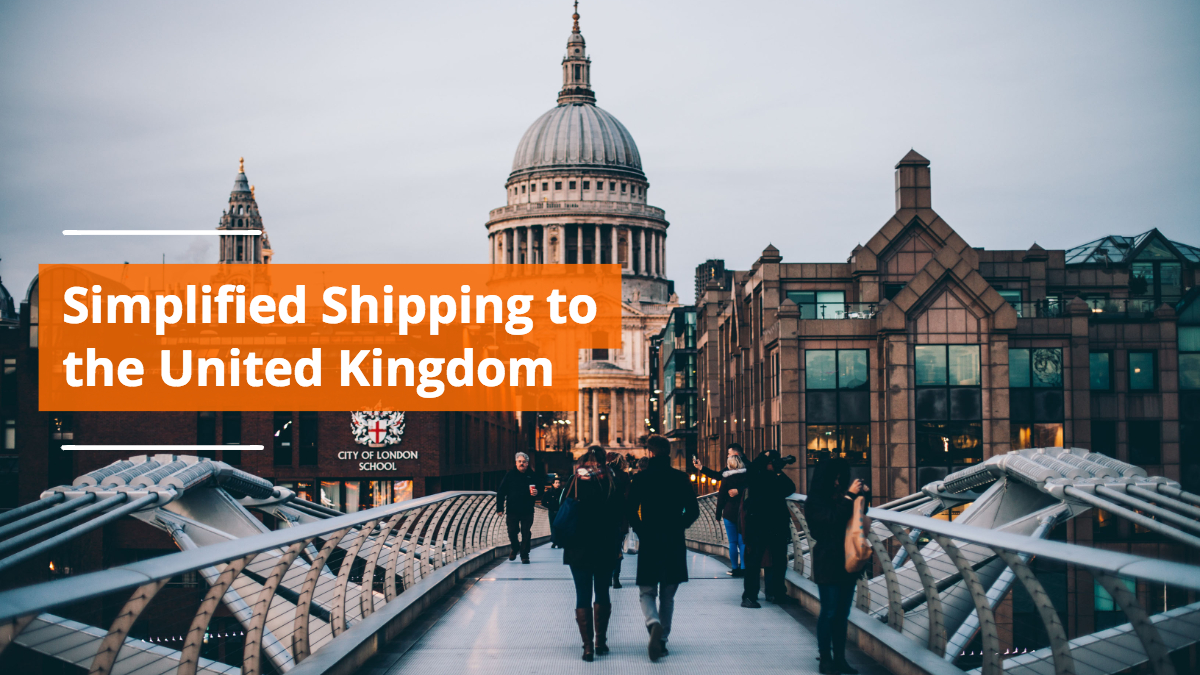 Shipping to United Kingdom Simplified