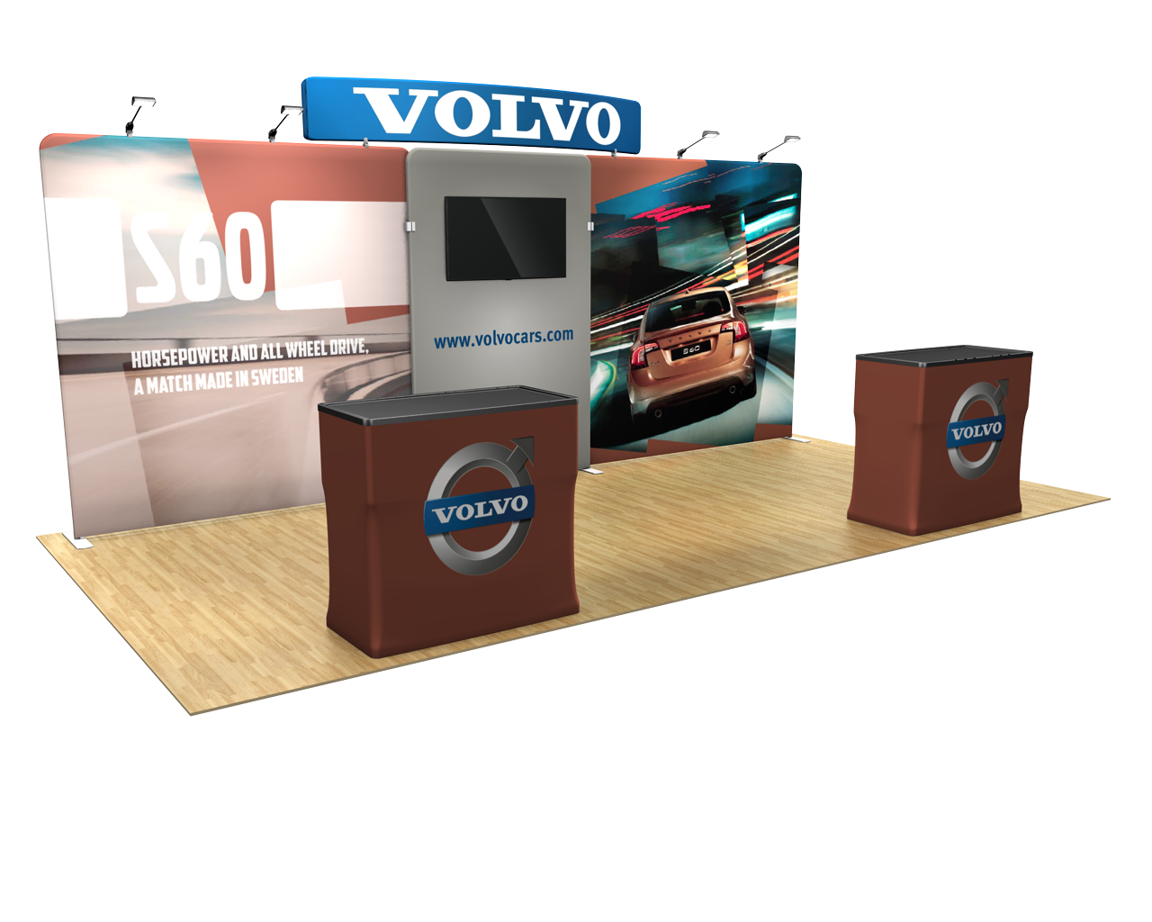 Waveline Media 20ft Display 20.02