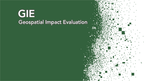 GIE — Geospatial Impact Evaluations