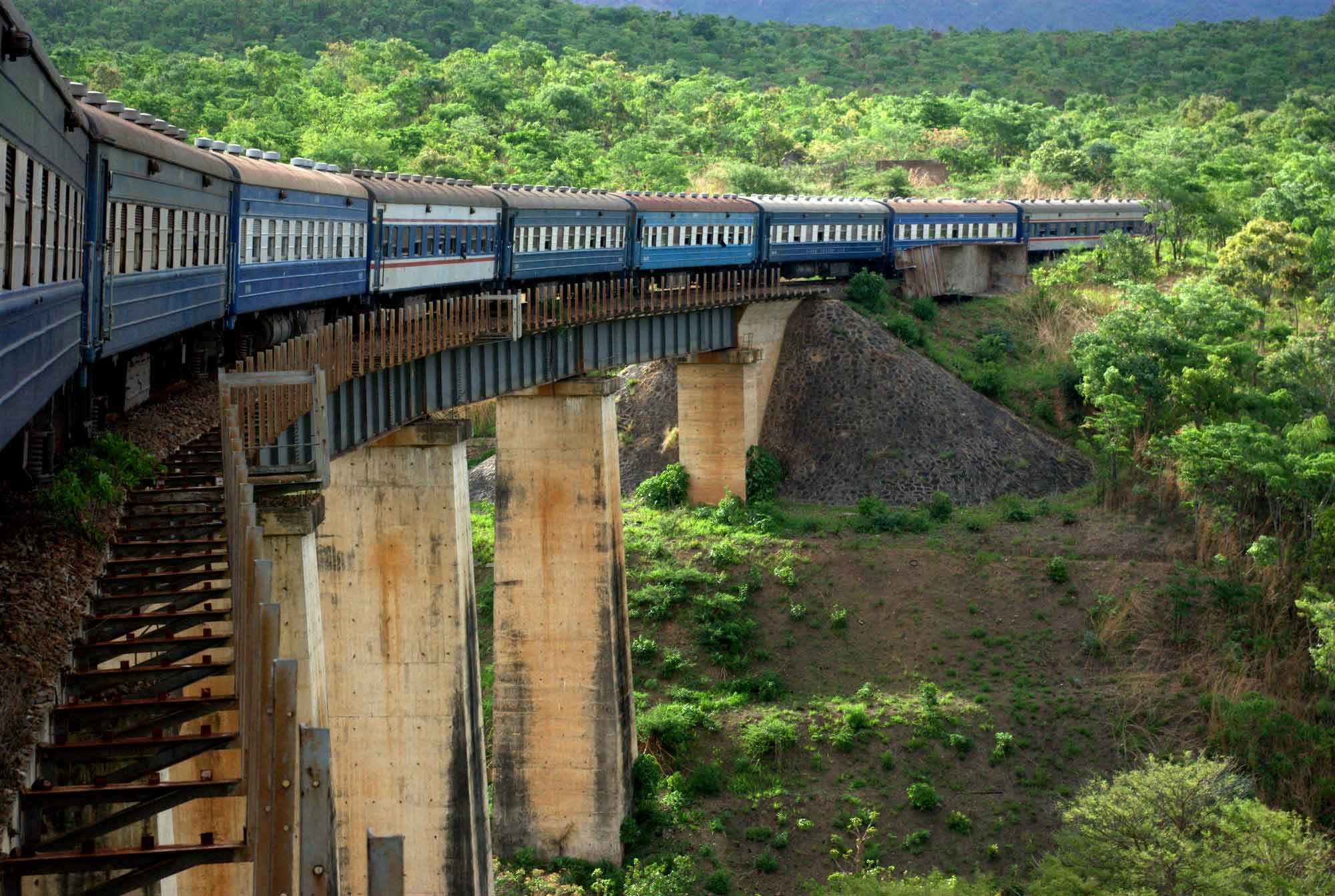 The first Chinese-backed railway, Tazara Rail (pictured above), was funded in the 1970s. Now China has agreed to help Tanzania build a new 2,561km railway worth USD 7 billion that will run between the Tanzanian port of Dar es Salaam and the Great Lakes states of Rwanda and Burundi.