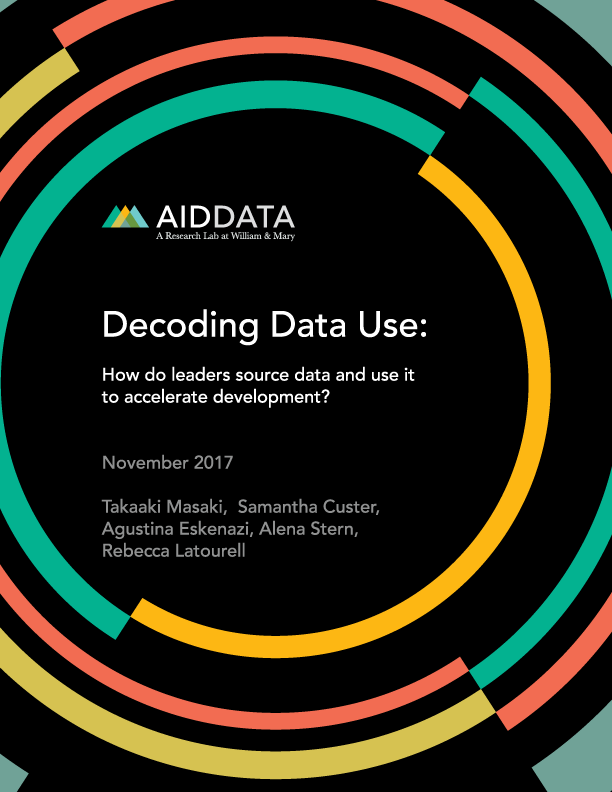 Decoding Data Use:  How do leaders source data and use it to accelerate development?