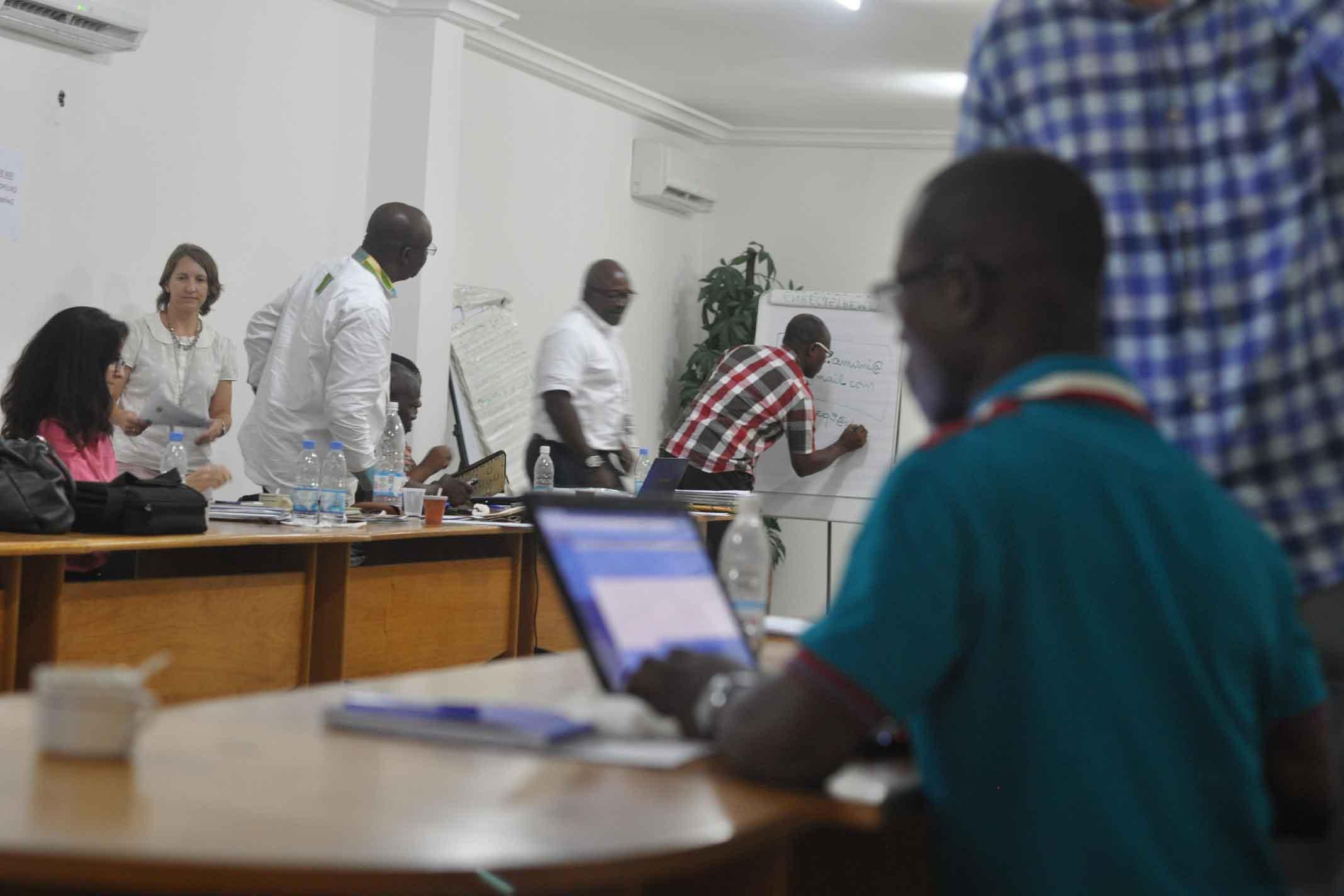 A USAID Preventative Mini-University in Côte d'Ivoire.