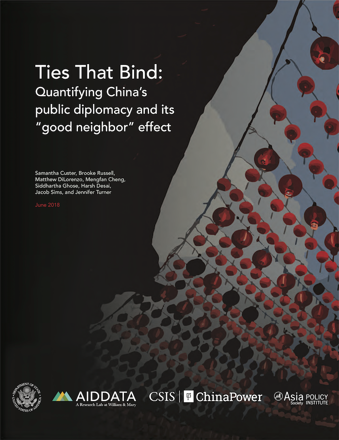 "Ties That Bind: Quantifying China's public diplomacy and its ""good neighbor"" effect"