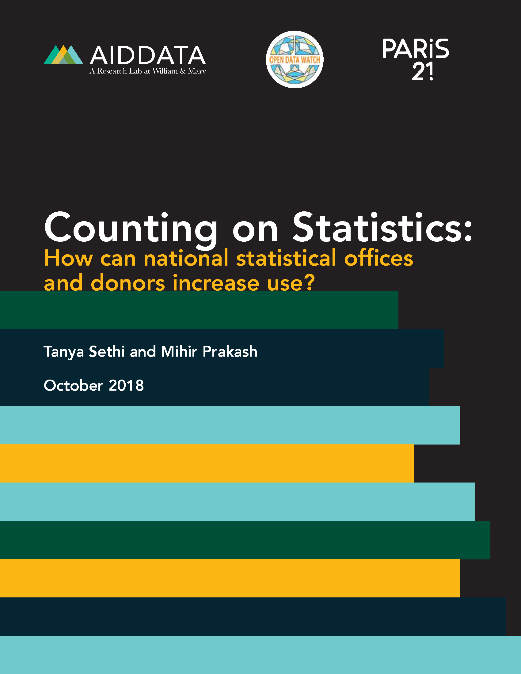 Counting on Statistics: How can national statistical offices and donors increase use?