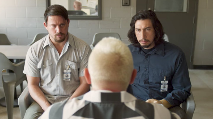 A scene from Logan Lucky