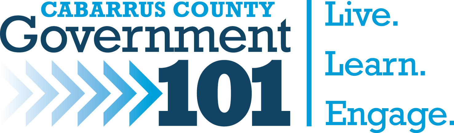 Government 101 Logo - Live. Learn. Engage.
