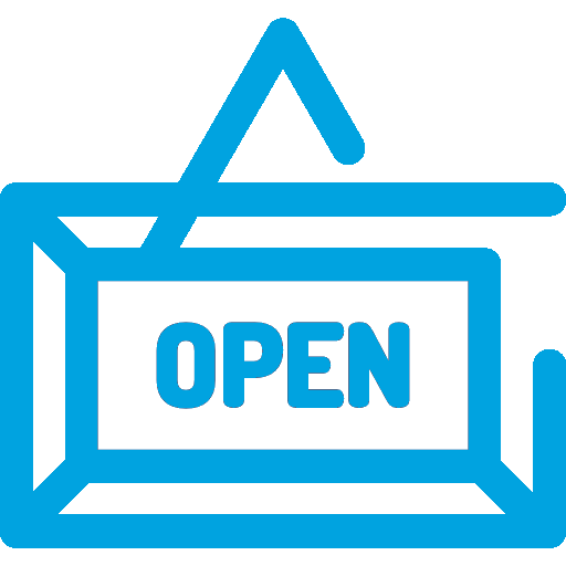 Hanging Open Sign