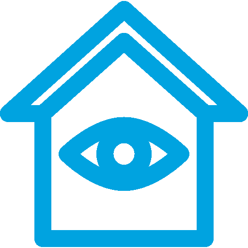 House Decorated with an Eye