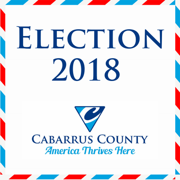 Election 2018 in Cabarrus County