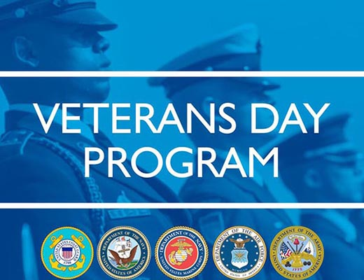 Veterans Day Program Promotion