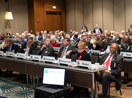 Commissioner Shue participates in NCACC Legislative Conference