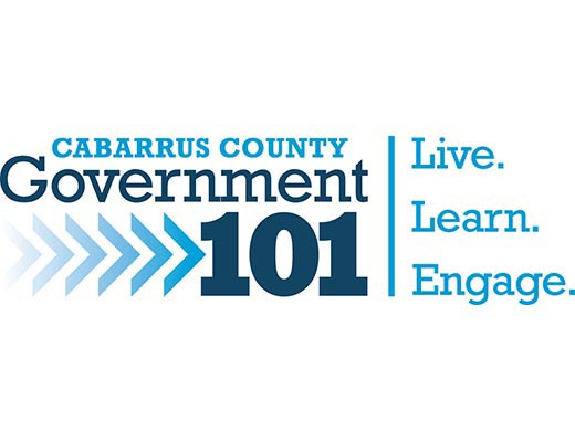 Government 101 logo live learn engage