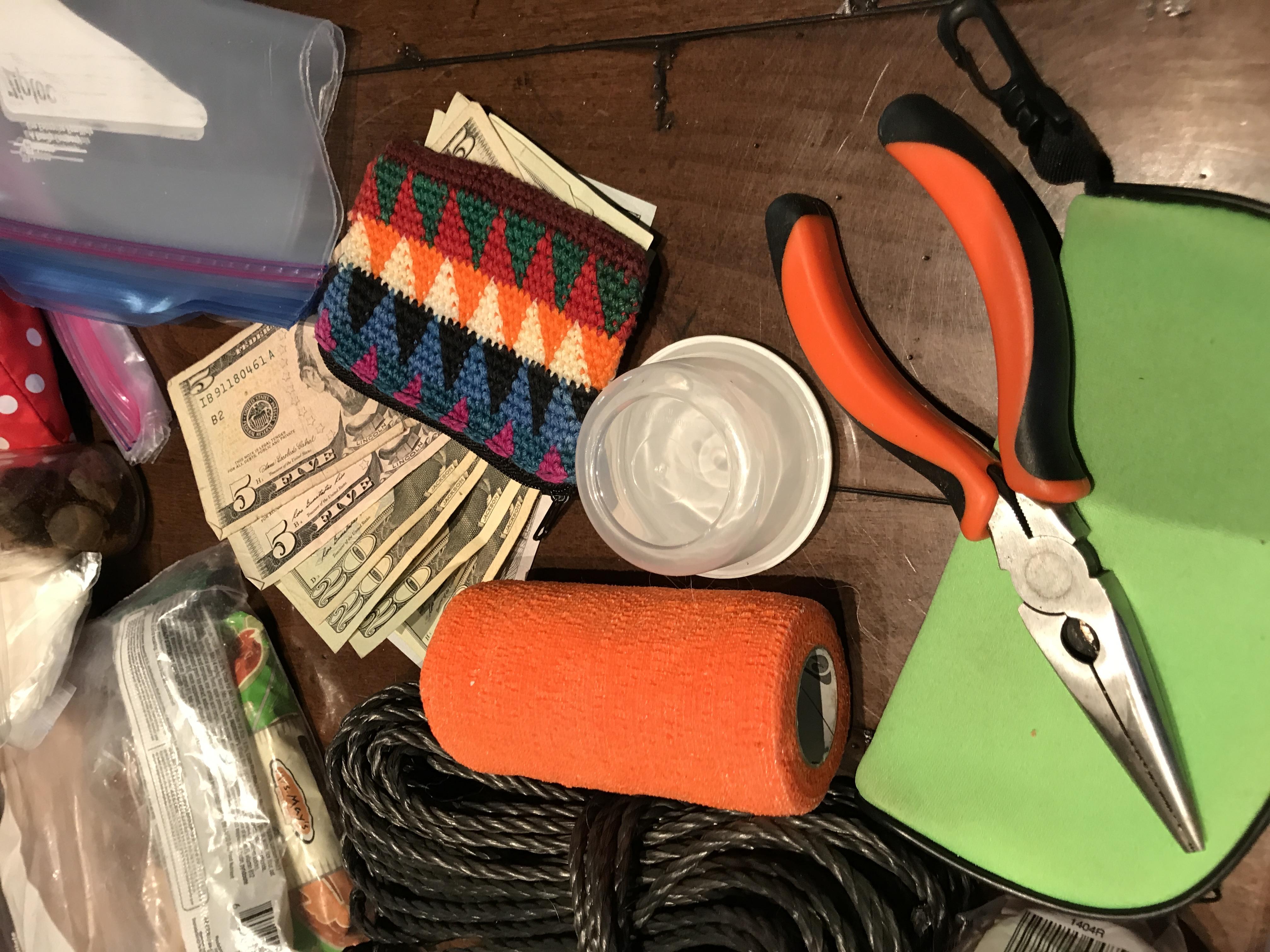 Keep cash with pet kits, too