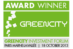 GreenPocket GreenCity Award Winner