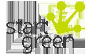 Logo start green