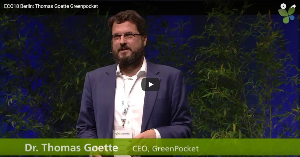 GreenPocket auf dem Ecosummit