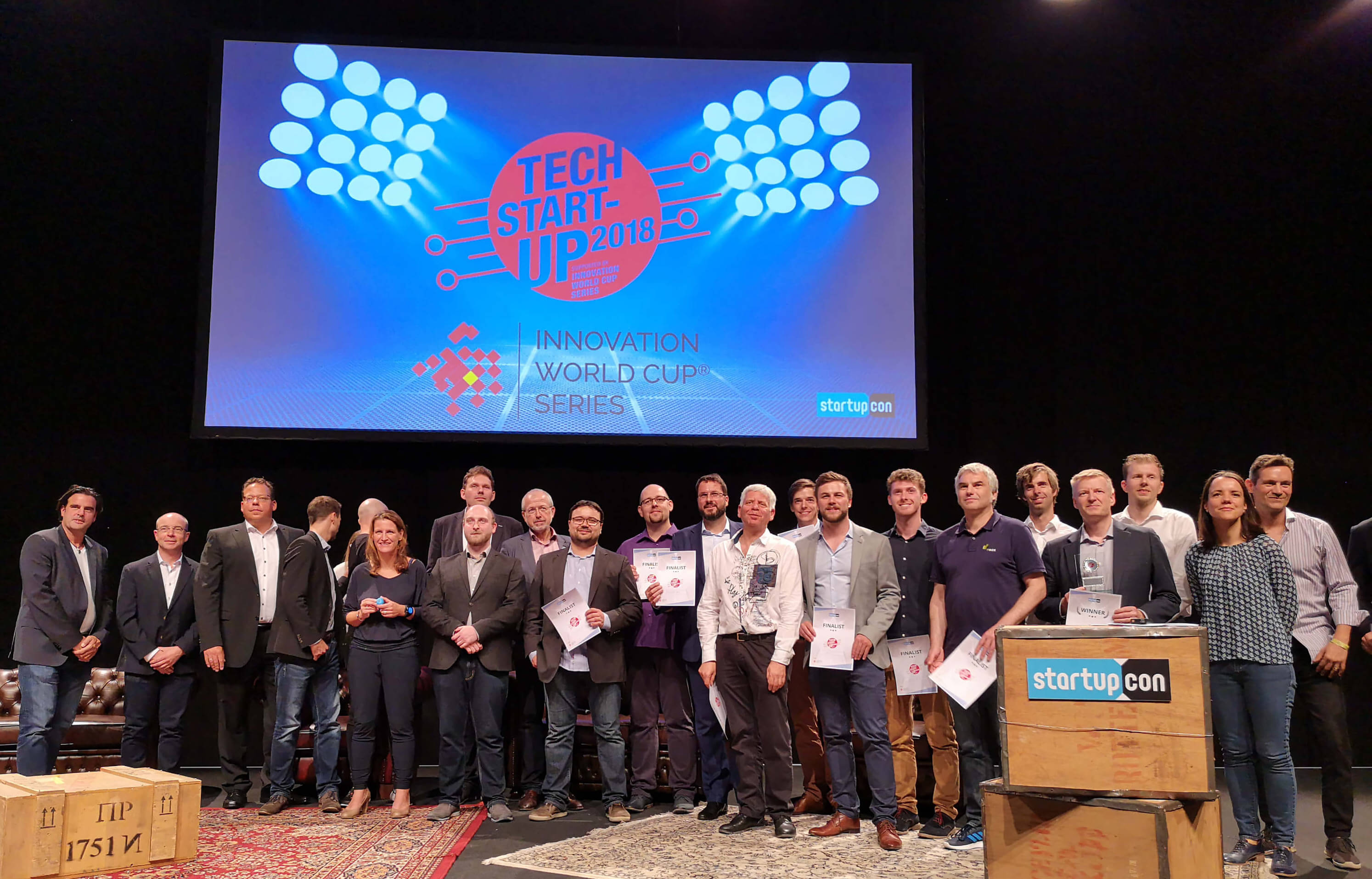 startupcon2018:GreenPocket zählt zu den top 20 Tech-Startups2018!
