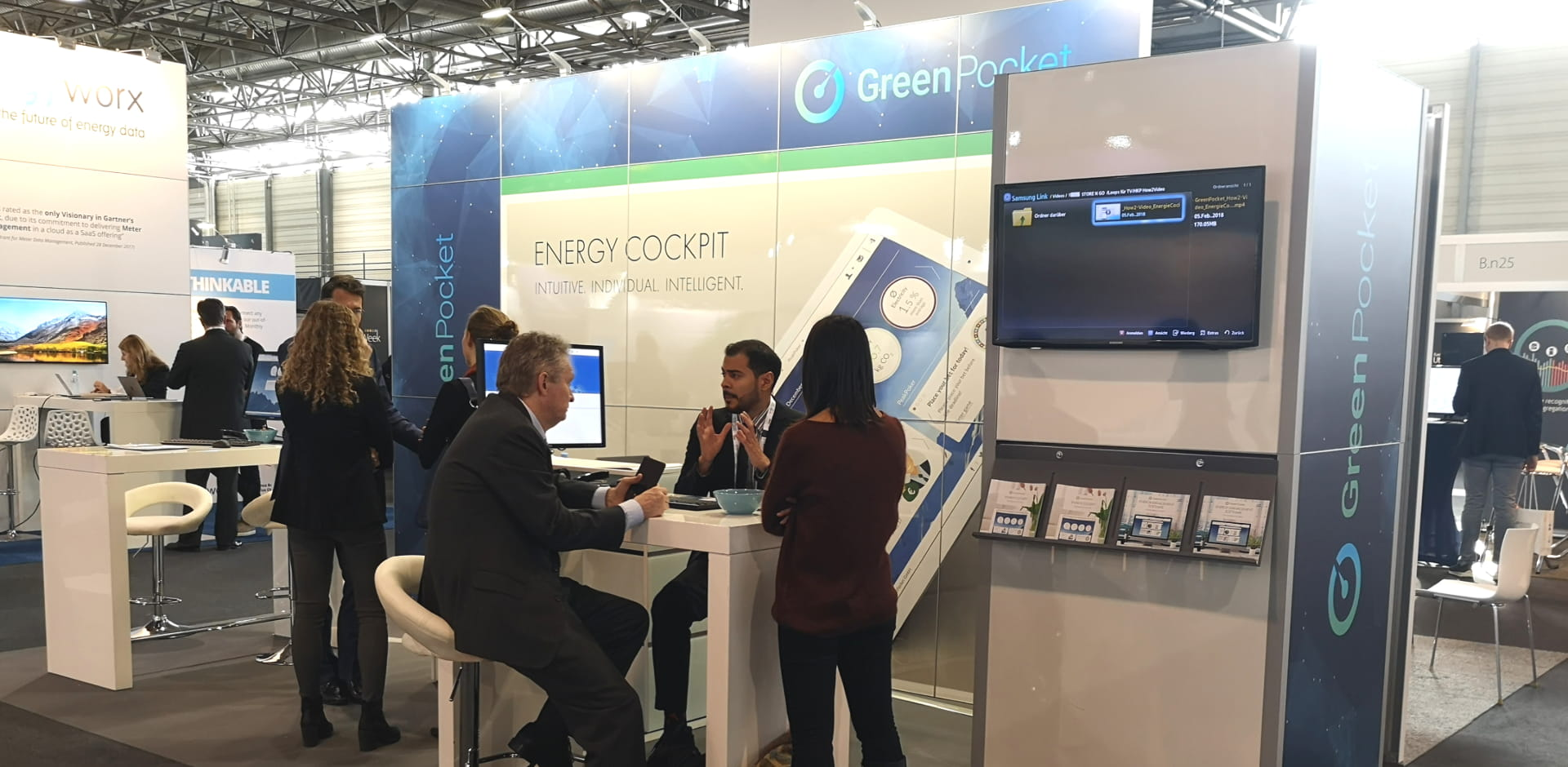 GreenPocket in Vienna: European Utility Week 2018 and PEAKapp final report