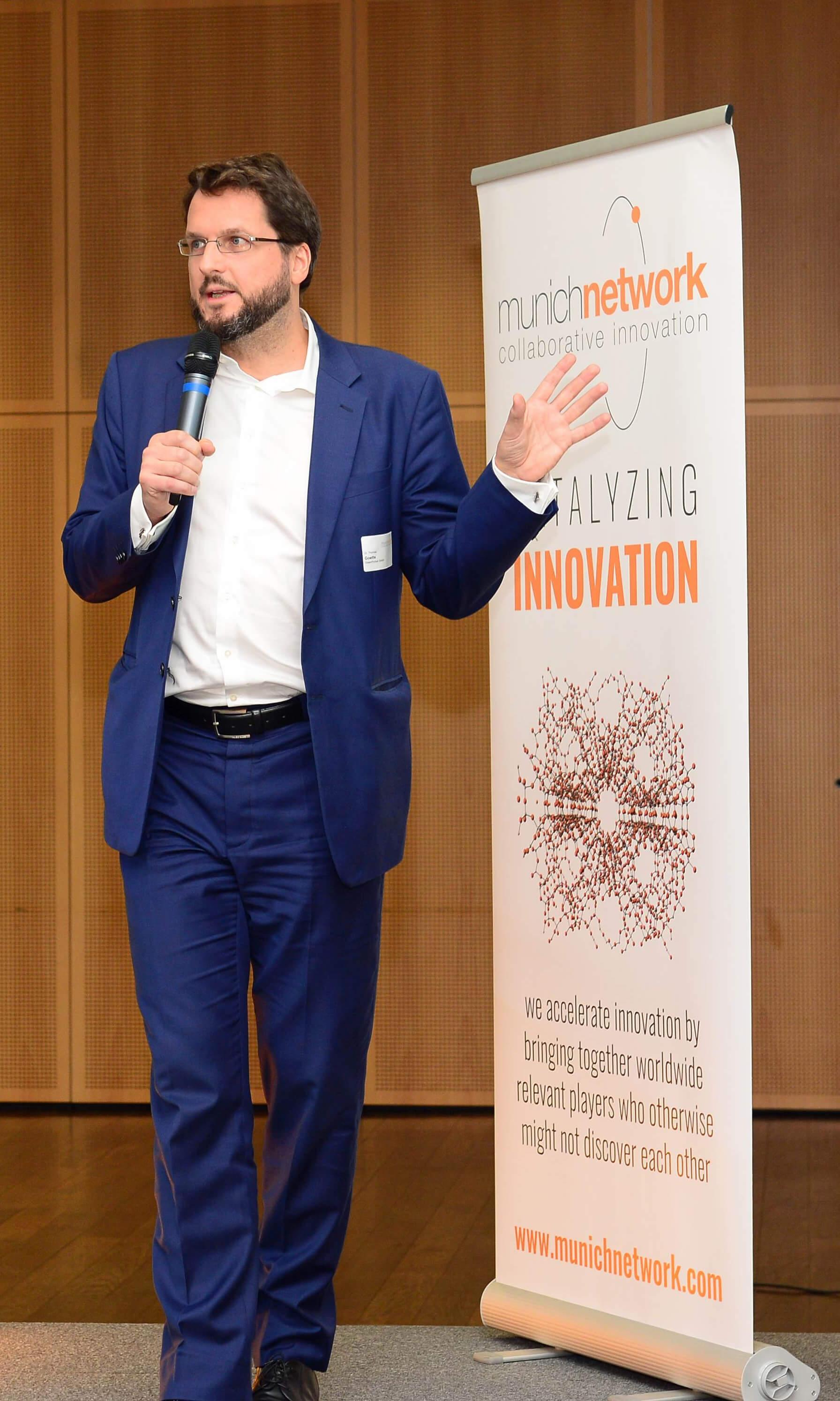 CEO Dr. Thomas Goette auf dem Digital Innovation Forum