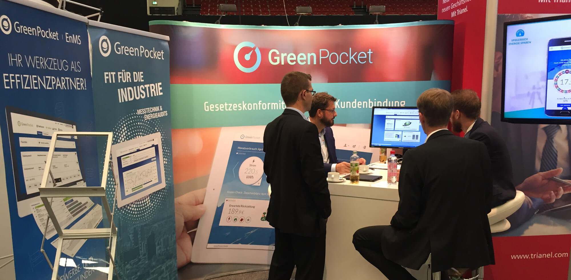 GreenPocket auf den metering days 2018: Der Rollout rollt an!