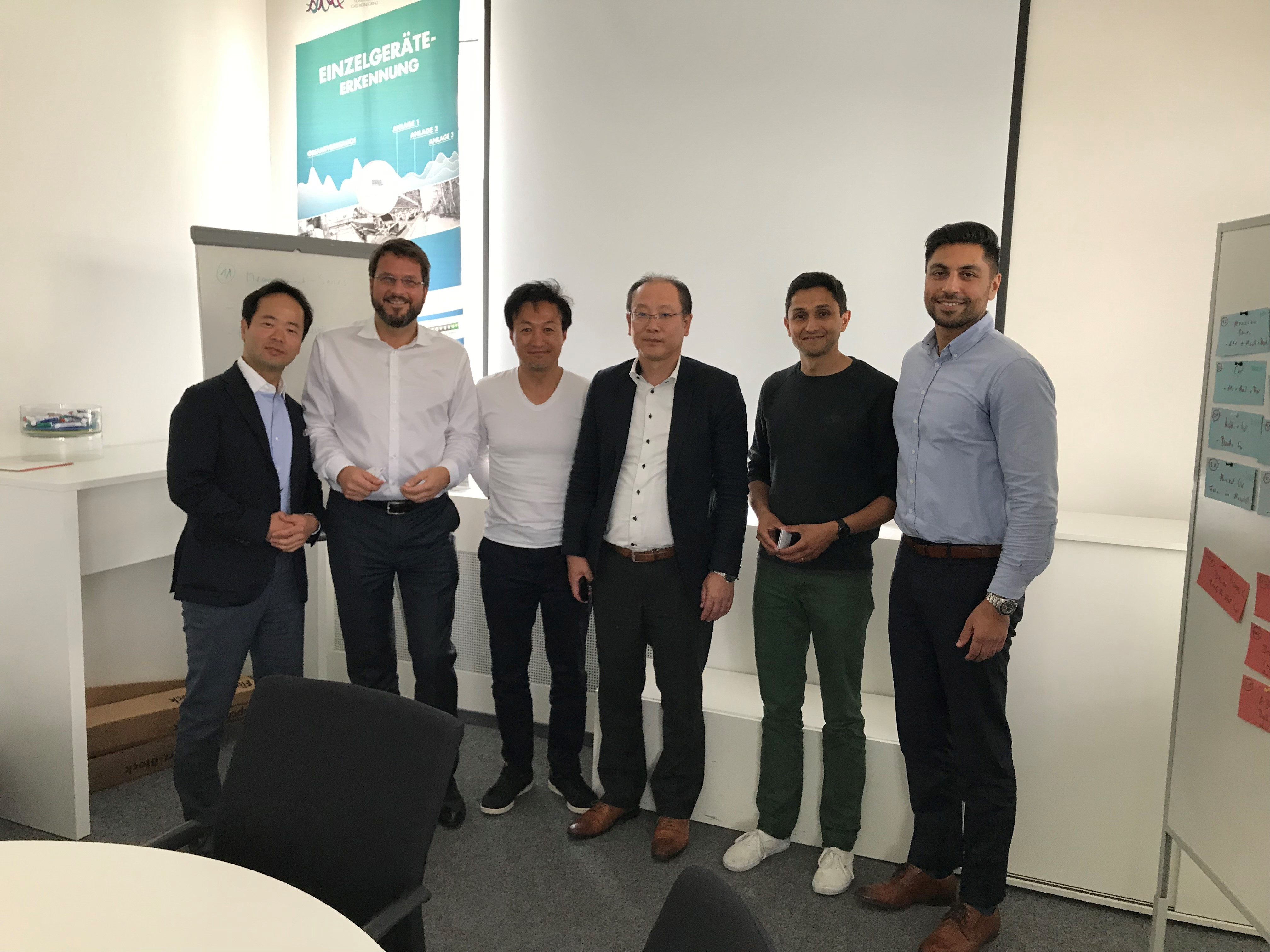 GreenPocket und Vertreter der japanischen Fachdelegation