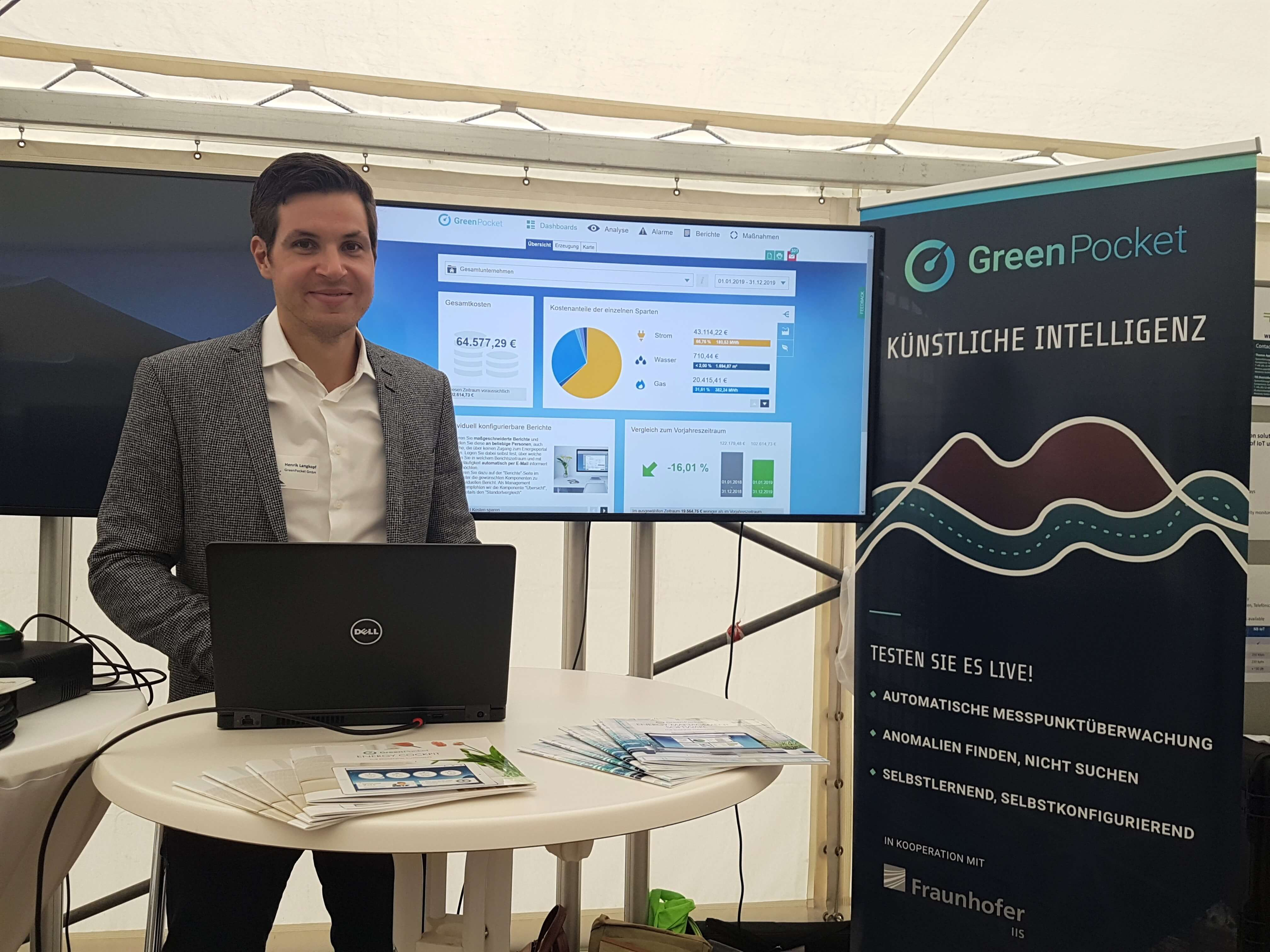 GreenPocket pitcht auf dem innogy IoT Summit