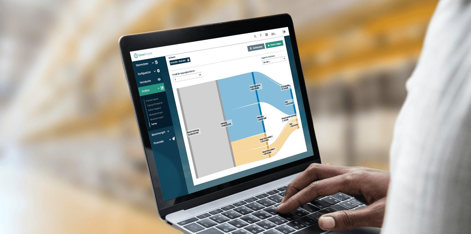 EnMS als Energieeffizienz-Tool: Flexible Messreihen, zahlreiche Anwendungsfälle für Gewerbekunden