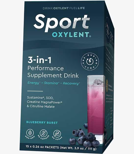 Oxylent Sport - 15 Day Supply