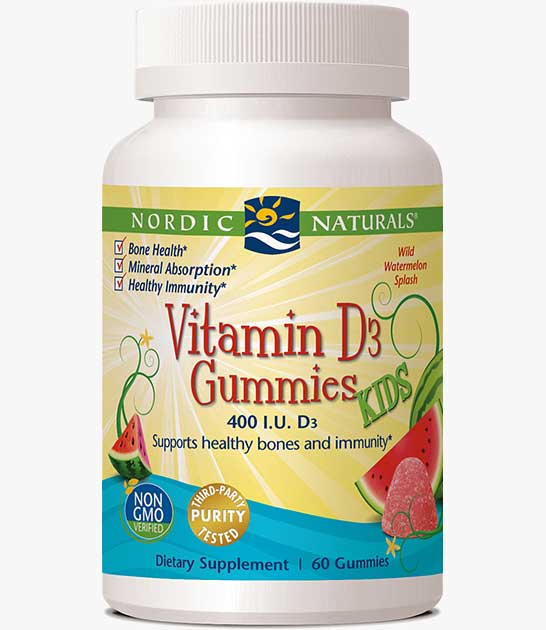 Vitamin D3 Gummies Kids