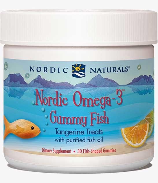 Nordic Omega-3 Gummy Fish
